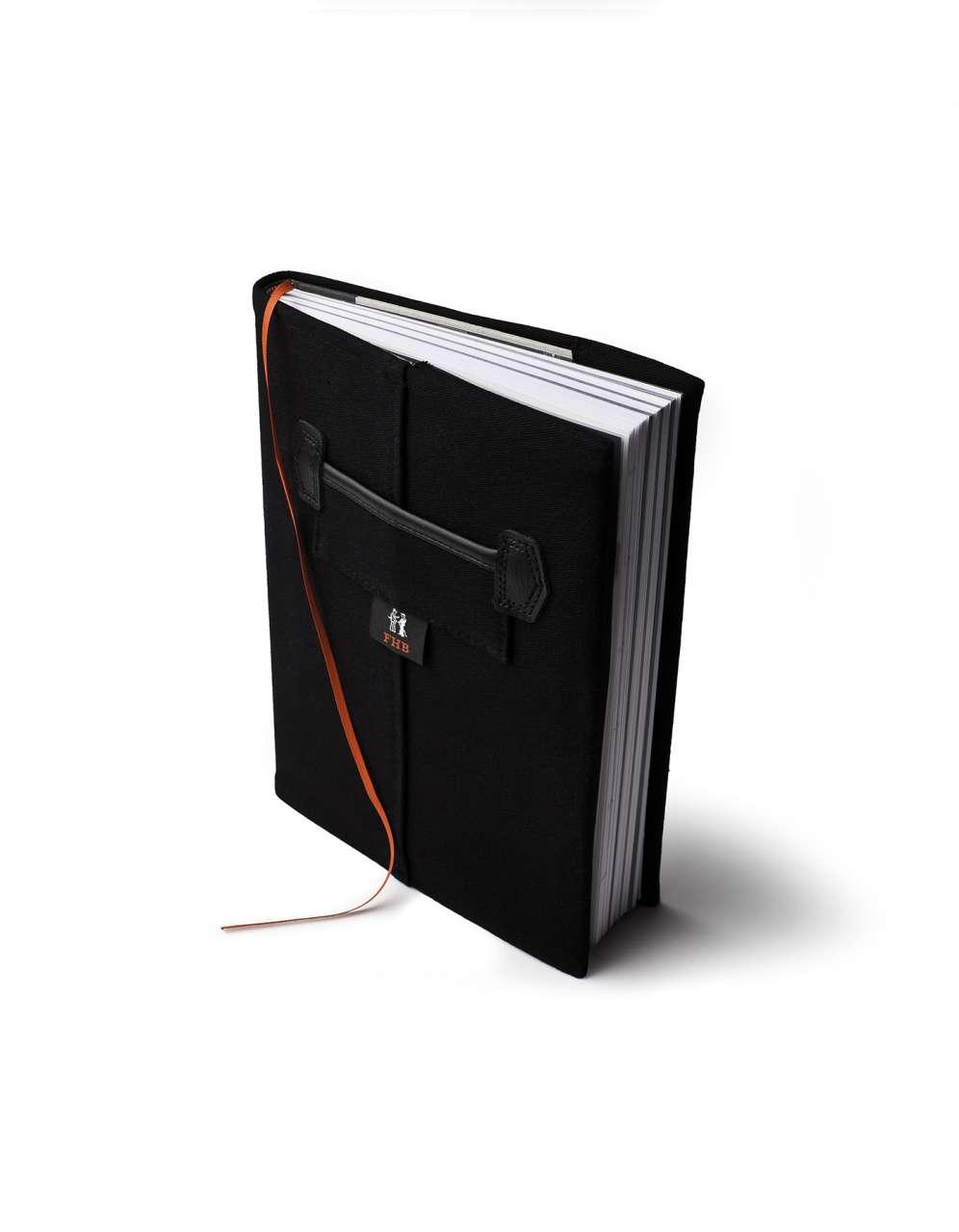 FHB ROLF Notizbuch mit Kalendarium, schwarz