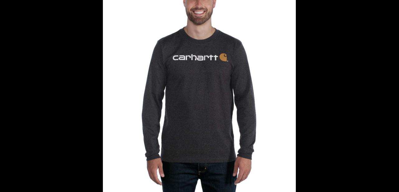 Carhartt CORE LOGO T-SHIRT L/S