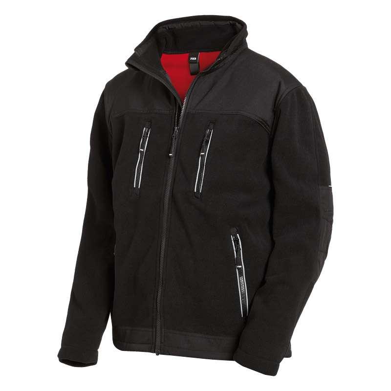 FHB LOTHAR Micro-Double-Fleece-Jacke