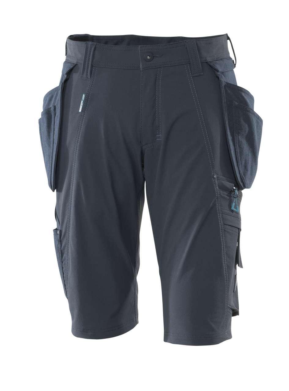 Shorts mit abnehmbaren Hängetaschen