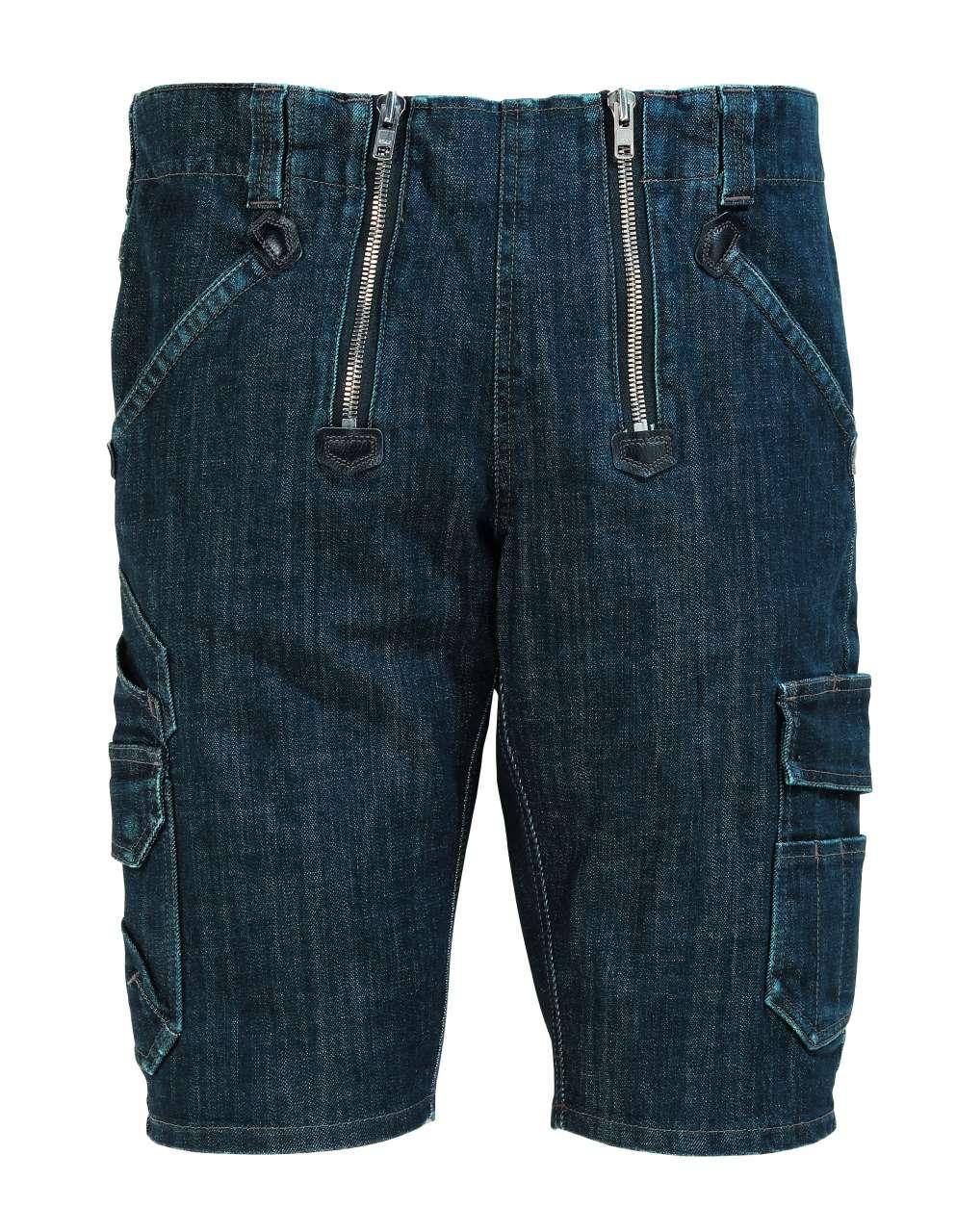 FHB VOLKMAR Stretch-Jeans-Zunft-Bermuda